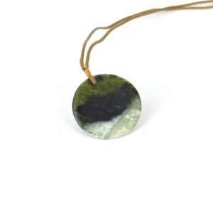 Tangiwai disc pendant with white rind