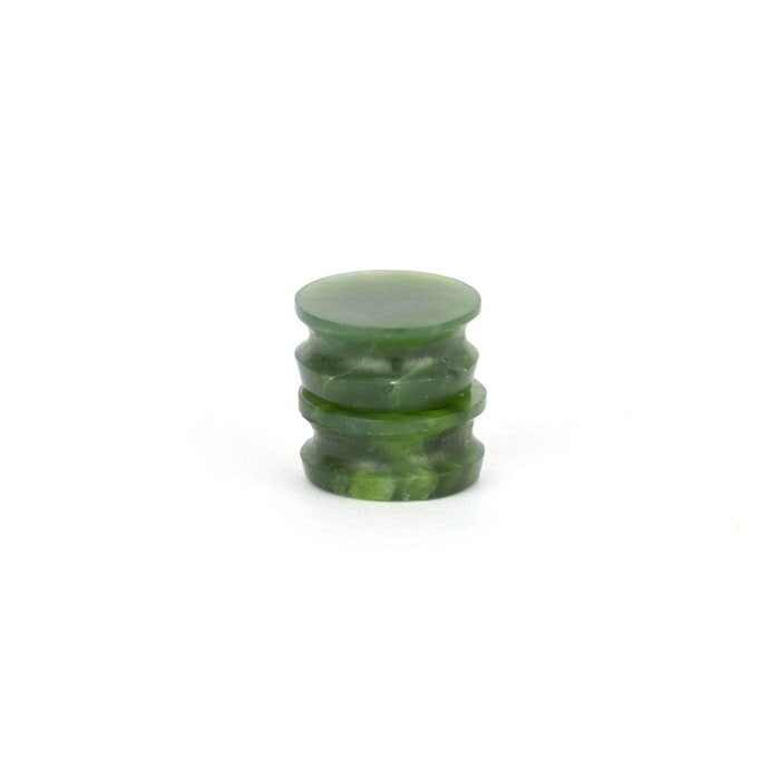Pounamu ear plugs 16mm and 17mm