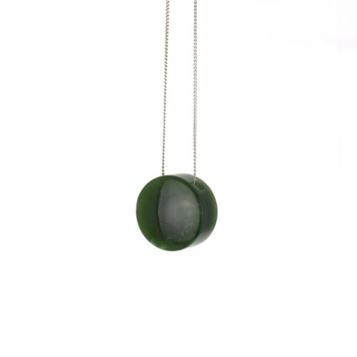 kahurangi rounded dot on sterling silver chain